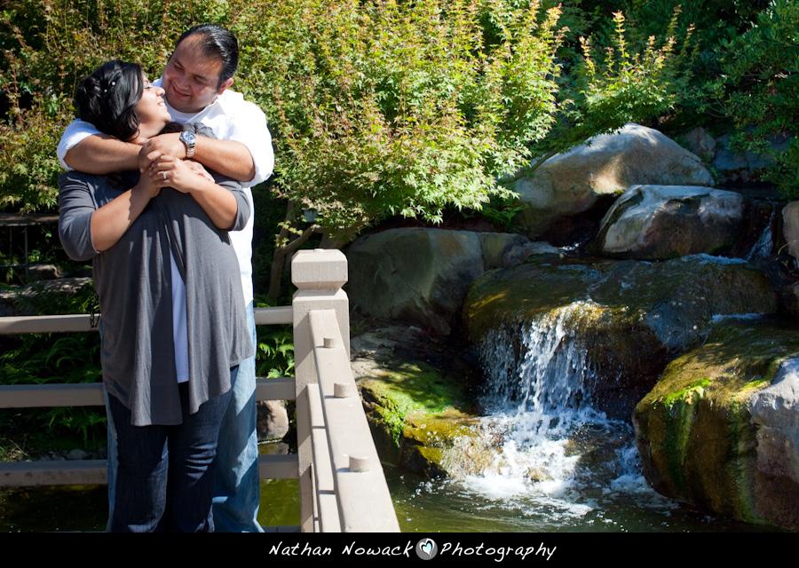 Gabriela steve e session earl burns miller japanese for Csulb japanese garden koi pond